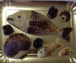 Pesce de Pasta de Mendula (Dolce tipico Salentino Natale)
