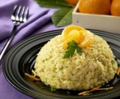 Cupola di riso al mandarino e Grand Marnier