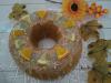 Ciambella cotta a varoma con zucca e nocciole al profumo di arancia e limone