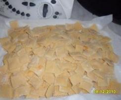 ravioli di zucca (pasta fresca fatta da me)