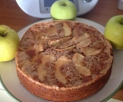 Torta di mele Golden con crosticina croccante