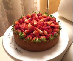 Cheesecake alle fragole contest festa della mamma