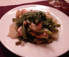 Insalata con salmone e gamberi rossi - contest insalata di pesce