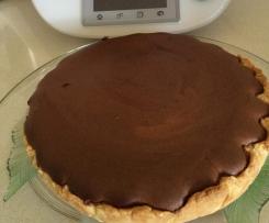 Crostata al cioccolato (pasta sablé)