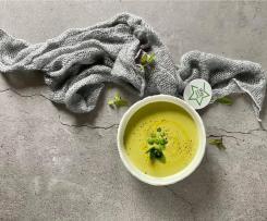 Crema fredda di piselli- Contest 7 ingredienti