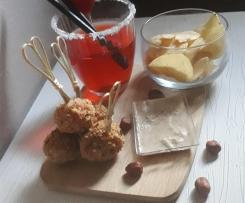 Polpettine di Pollo con Pancetta Affumicata e granella di Nocciole a modo mio (Contest Stuzzichini per Aperitivo )