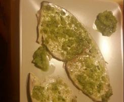 pesce spada in salsa di zucchine