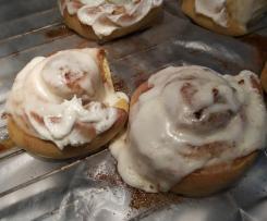 Cinnamon rolls (da ricetta originale)