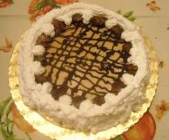 Cheese cake di ricotta e crema di marroni