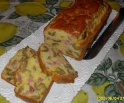 Cake al prosciutto e olive