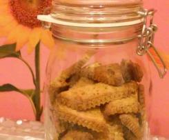 "Biscotti ""SENZA....""(glutine,lattosio,uova) ~ vegan friendly"