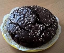 Torta al cioccolato leggera sofficissima e supergolosa