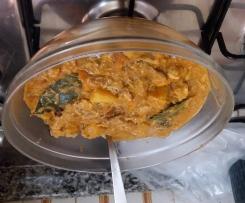 Duplicato di Spezzatino di manzo con carotefatto con bocconcini di pollo.