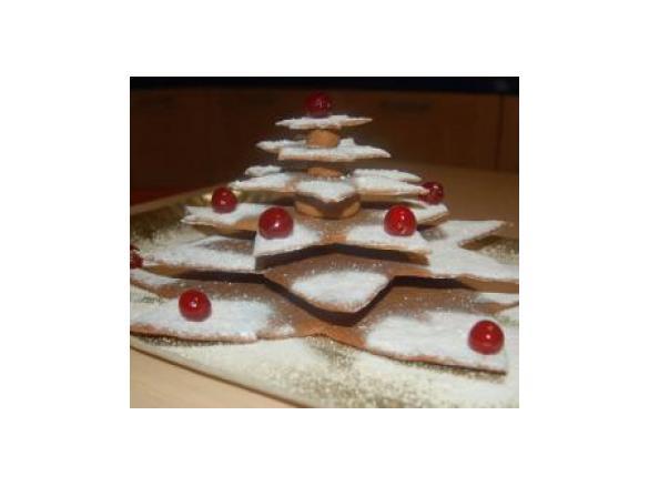 Biscotti Albero Di Natale 3d.Albero Di Natale In 3d