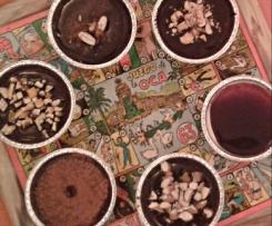 Budino al cioccolato con latte di soia