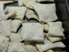 cracker con pasta madre