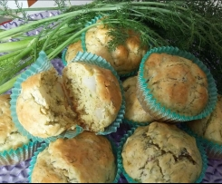Muffin finocchietti selvatici e topinambur contest