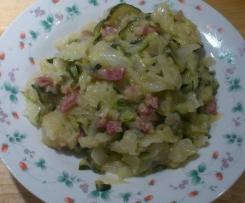 Crauti e zucchine