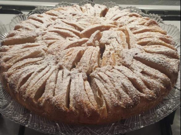 Torta Mandorle Bimby.Torta Di Mele Mandorle E Yogurt