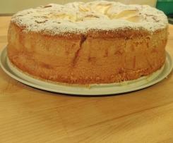 Schiffon Cake alle Mele