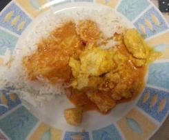 Pollo speziato con riso basmati al varoma