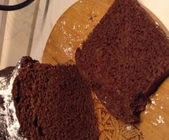 Pane del mattino al cacao e cioccolato