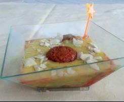Coppa di Saronno variegata alle mosciarelle x buffet