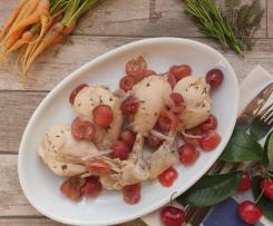 Pollo al varoma con le ciliegie - contest ciligie