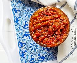 Pesto di carciofini e pomodori secchi - Contest 7 ingredienti