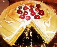 Torta Cerasè meringata   in doppia crema
