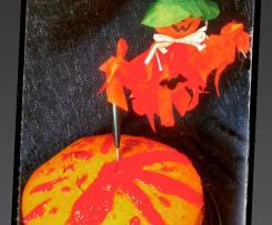 TORTA ASSASSINATA (variante di torta di zucca e grano saraceno) - staffetta Halloween
