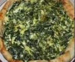 Torta salata spinaci philadelphia e speck