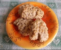 Biscotti fiocchi di avena e mandorle