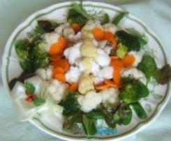 Coda di rospo con verdure