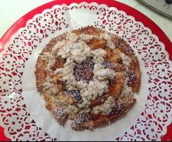 Fiore di sfoglia leggero / contest torte veloci/
