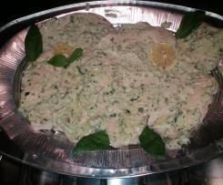petto di pollo basilico olive stracchino