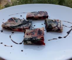 Frittata di barbabietola e foglie di barbabietola - contest rape