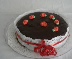 torta mandorle e cioccolato