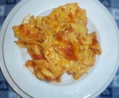 Maltagliati al profumo di aglio e prezzemolo della maestra Paola Naldoni