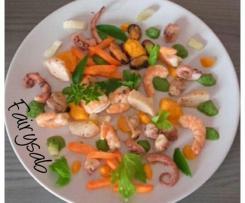 Insalata di Mare Ricca -contest pesce in insalata-