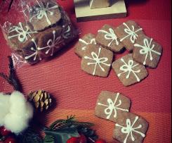 Biscotti di Natale pacchetto regalo