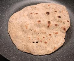Chapati/ pane indiano con varianti ed eventuali