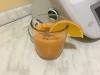 Frullato di zucca, arancia e zenzero