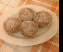 Muffin dolci di radicchio