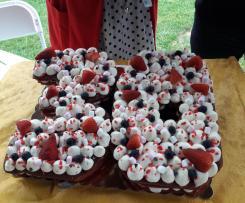 Red Velvet Cream Tart - Contest 40 anni Bimby