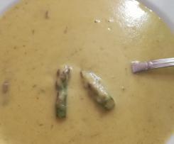 Variante di Vellutata di asparagi-Crema di asparagi corposa