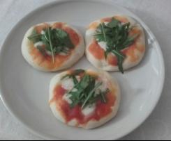 pizzette salame e rucola