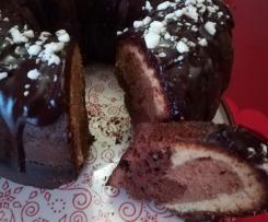 Ciambella al triplo cioccolato