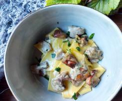 Foiade con funghi porcini (contest ricette di una volta)