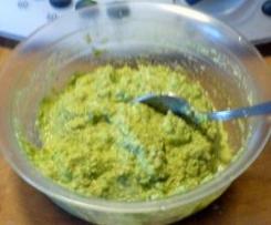Pesto di zucchine a crudo